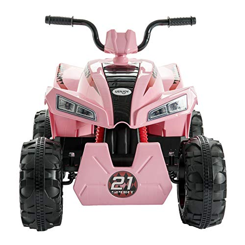 Uenjoy ATV for Kids 4 Wheeler Quad 12V Electric Ride for sale  Delivered anywhere in UK