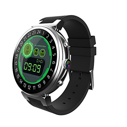 Android Smart Watch I6 Mens Watch 2GB+16GB MTK6580 Quad Core 3G Wifi Heart Rate Watch Phone With GPS+Nano SIM Card