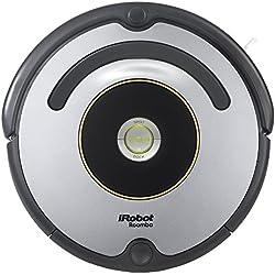 1 de iRobot Roomba 615 - Robot aspirador para suelos duros y alfombras, con tecnología Dirt Detect, sistema de limpieza en 3 fases
