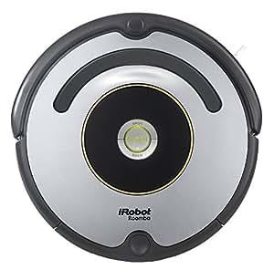 iRobot Roomba 615 Staubsaugroboter (hohe Reinigungsleistung, geeignet bei Tierhaaren) grau
