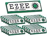 20 x BOOKS 1000 SHEETS MEDIUM GREEN STANDARD EZEE RIZLA ROLLING CIGARETTE PAPER