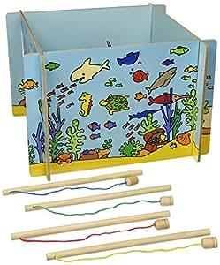 Vilac - Jouets en bois - Grande boîte de pêche
