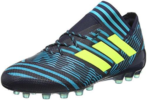 new style 31a4e df0d6 adidas Nemeziz 17.1 AG, Scarpe da Calcio Uomo, Blu (Legend Ink Solar