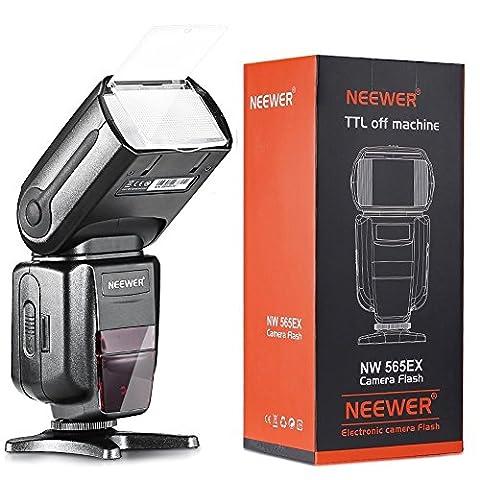 Neewer NW565EX II-TTL Flash Esclave Speedlite avec Flash Diffuseur pour
