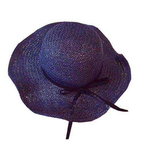 Mai Dou Dame Arc Mode Chapeaux De Plage blue