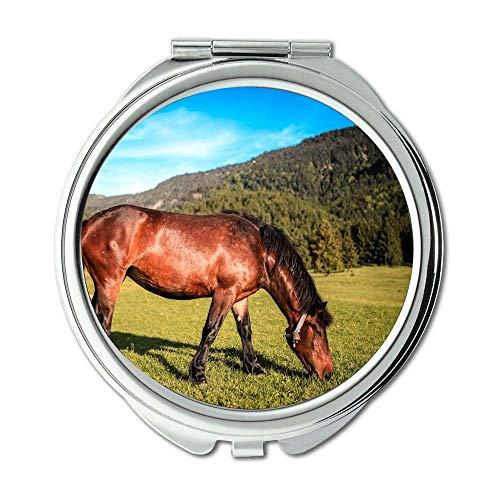 Yanteng Spiegel, Make-upspiegel, Tiertierphotographie der Landwirtschaft, Taschenspiegel, beweglicher Spiegel