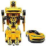 #4: Generic Converting Car to Robot Transformer Bumblebee game for Kids