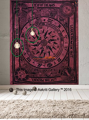 arazzo-celtico-unico-ciclo-di-ages-wall-hanging-art-mandala-arazzo-hippie-2134-x-1397-cm-aakriti-gal