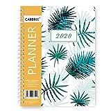 2019-2020 Agenda scolaire hebdomadaire mensuel A5 Calendrier journalier Gestion du temps 12 onglets mensuels 14 x 21 cm