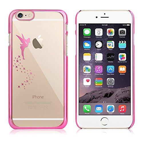 Apple iPhone 5 / 5s Handyhülle / Schutzhülle inkl. Displayschutzfolie im Design : die kleine Fee Gold die kleine Fee Pink+Touchstift