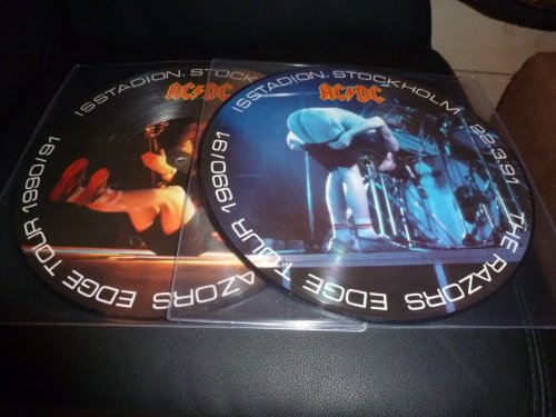 LP 33T.AC/DC.DOUBLE PICTURE.STOCKHOLM 79.RAZOR EDGE 1ET 2. LIMITEE. Diamond Razor Edge