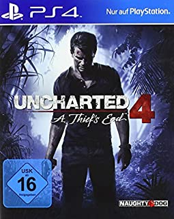 Sony Computer Entertainment PS4 Uncharted 4: A Thief's End (B00KX1LXTI) | Amazon Products