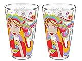 2x Ritzenhoff Jacobs Tassimo Latte Macchiatto Glas 13. Edition Longdrink