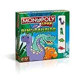 Winning Moves - 44819 - Monopoly Junior Dinosaurier   Deutsch   Kinder Spiel   Brettspiel   Gesellschaftsspiel