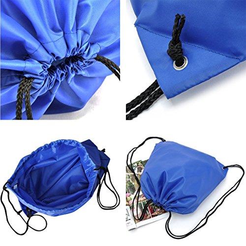 6 Pack Mochila Saco Bolsas de Cuerdas de Deporte Coolzon® Bolso ... 0809ebb60a1d6