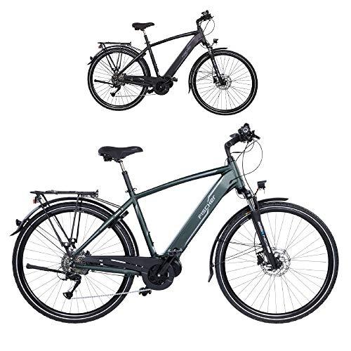FISCHER Herren - E-Bike Trekking VIATOR 4.0i (2020), grün matt, 28 Zoll, RH 50 cm, Mittelmotor 50 Nm, 48 Volt Akku im Rahmen*