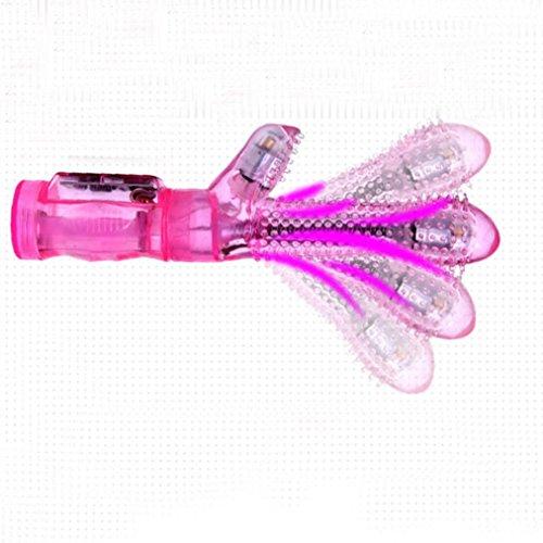 Winwintom 6-Frecuencias Estimulación Vibrante Del Grano Silicona G-Spot Vibración Juegos De Pareja Juguetes Sexuales