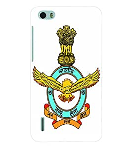 ColourCraft Indian Air Force Back Case Cover for HUAWEI HONOR 6