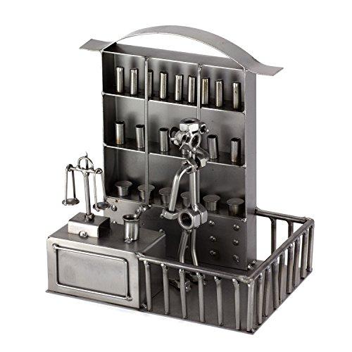 Steelman24 I Farmacéutico con Grabado Personal I Made in Germany I Idea para Regalo