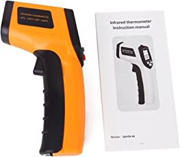 MK Contact Infrared Digital Thermometer (G243, Yellow)