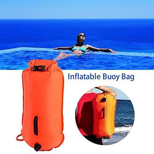 r Bags, Aufblasbarer Rettungssack, New Wave-Schwimmsack, Wasserdichter Packsack für Kajak-Schnorchel-Surfer-Strandschwimmboote ()