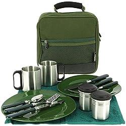 NGT Deluxe Cutlery Set Food, grün, L