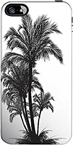 Snoogg Tropical Illustration Designer Protective Back Case Cover Forapple Iph...
