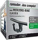 Rameder Attelage démontable avec Outil pour Mercedes-Benz Classe B + Faisceau 7...