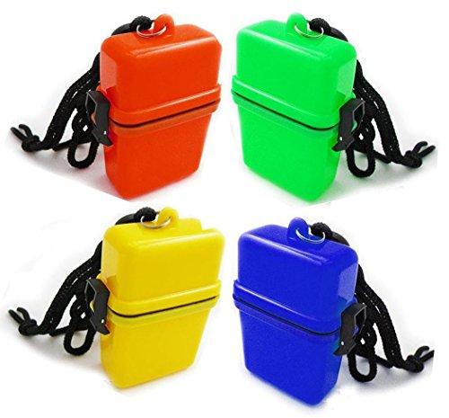 seguryy 1pc ABS Outdoor Waterproof Plastic Container Key Money Storage Box Case Holder