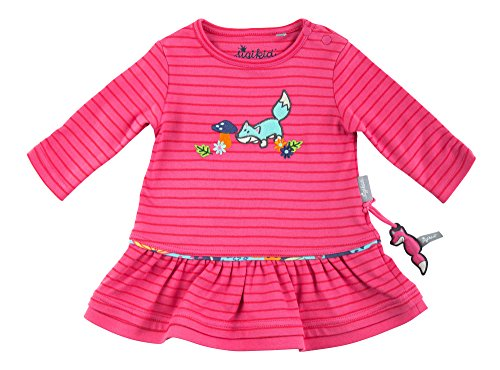 Sigikid Baby-Mädchen Kleid, Rosa (Hot Pink 632), 80 (Kinder Kleid Pink Hot)