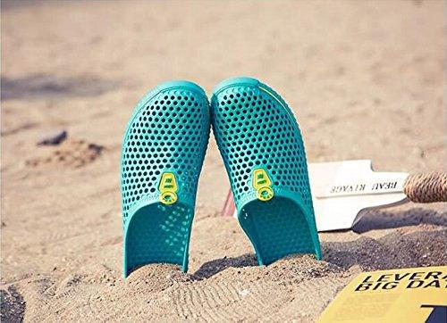 Damen / Herren Mesh Sandalen atmungsaktiv und leicht Sommer Casual Slipper Moonlight
