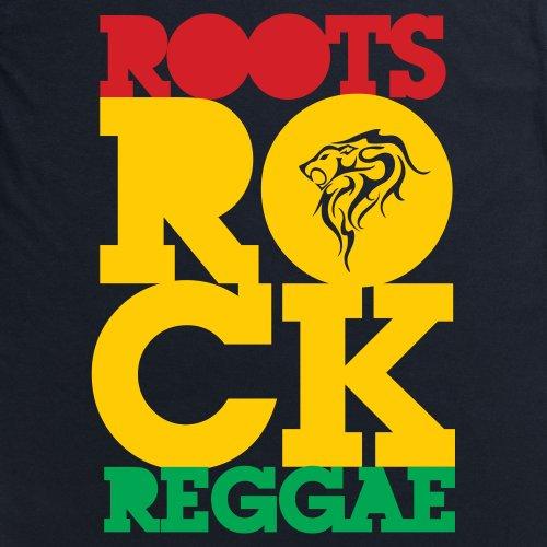 Roots Rock T-Shirt, Herren Schwarz