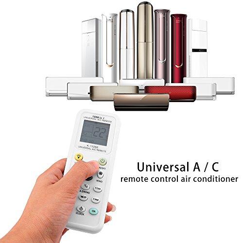 Deecozy telecomando per climatizzatore, telecomando universale k-1028e