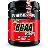 BCAA CAPS - 500 Kapseln - im stärksten Verhältnis 2:1:1 - mikrokristallienes L-Leucin, L-Isoleucin, L-Valin und L-Alanin für Muskelaufbau und Muskelerhalt - Aminos - Made in Germany