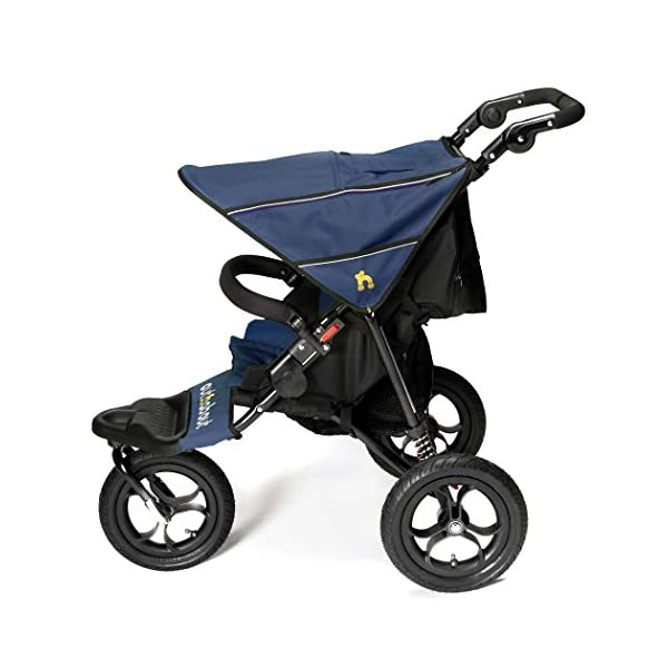 Out n About Nipper Single v4 Stroller  suitable from birth to approx 4 years new auto lock clips together when stroller is folded lockable 360 degree swivel front wheel 2