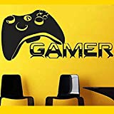 Gamer Aufkleber Gamer Wandaufkleber Name Aufkleber Poster