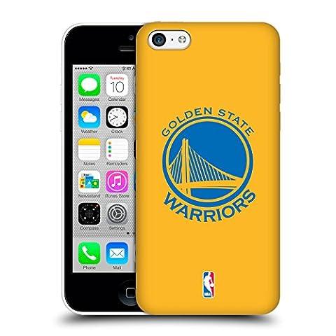 Officiel NBA Plaine Golden State Warriors Étui Coque D'Arrière Rigide Pour Apple iPhone 5c