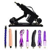 Yotefun Sexmaschine - Automatische Masturbation Machine Gun mit Dildo Set für Frauen, Super Starke und Stabile Fucking Machine (SCTS S1)
