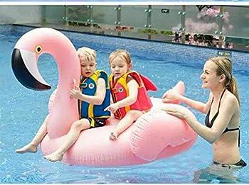 Riesiger Aufblasbar Flamingo Luftmatratze Aufblasbarer Flamingo Pool Floß Schwimmtier Schwimminsel Schwimmreifen Pool Spielzeug Wasserspielzeug Luftmatratze Wasser Strand Party Kinder Erwachsene 2