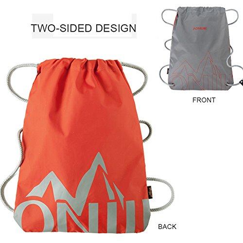 LOCALLION Sacchetto Porta Costume Bagnato per Viaggio Sport Outdoor Sacche Impermeabile Porta Scarpe Vestito Casco Sacca Zaino Porta Accessori per
