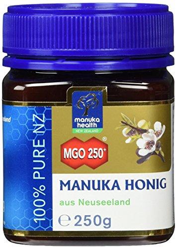 Manuka Health Aktiver - Honig MGO 250 plus - Original, 1er Pack (1 x 250 g)