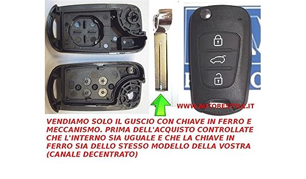 G M Production Hyu X3 Schlüsselgehäuse Fernbedienung Hyundai I10 I20 I30 Ix20 Ix35 Wenn Original Identisch Taste Kofferraum Überprüfen Foto Und Details Auto