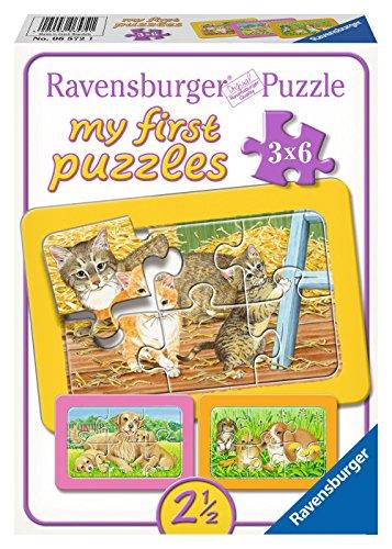 Ravensburger 06572 - Liebste Haustiere