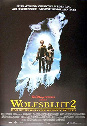 Wolfsblut 2 - Das geheimnis des weissen Wolfes - Filmposter A3 29x42cm gefaltet