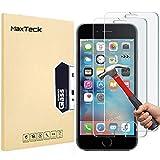 [3 Pièces] Verre Trempé pour iPhone 6S 6 7 8, MaxTeck Film Protection en Verre trempé écran Protecteur Vitre- ANTI RAYURES - SANS BULLES D'AIR -Ultra Résistant Dureté 9H Compatible 3D Touch