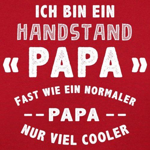 Ich bin ein Handstand Papa - Herren T-Shirt - 13 Farben Rot