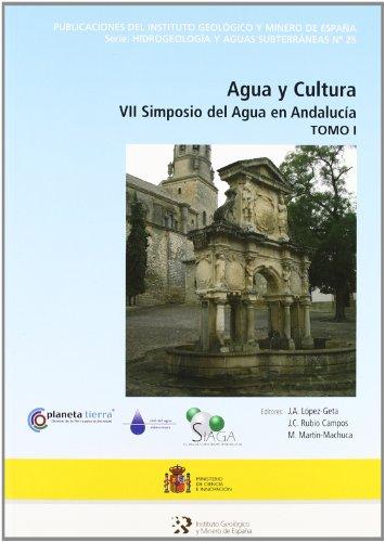 Agua y cultura: VII simposio del agua en Andalucía: 2 (Hidrogeología y aguas subterráneas)