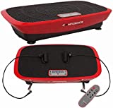 Confidence VibeSlim Vibration Fitness Trainer Plate w/ Straps + Remote Control