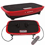 Confidence VibeSlim Vibration Fitness Trainer Plate w/Straps + Remote Control