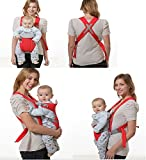 Velkro Deluxe Premium Ultra Comfortable Baby Carrier Baby Sling Baby Seat (Colour May vary)